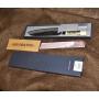 Japonský Santoku nůž Tojiro Shirogami (F-698), černěný, 165mm