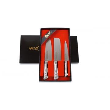 Dárková sada nožů Tojiro Composit 3ks (150mm, 165mm, 170mm)