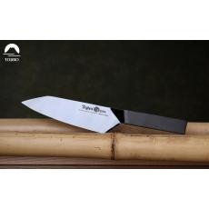 Kuchyňský nůž Tojiro Origami Black Santoku 165mm