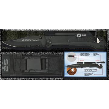 Záchranářský nůž TACTICA K25 / RUI 90mm