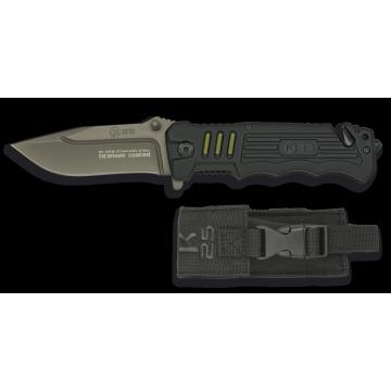 Záchranářský nůž K25 / RUI Black 87mm
