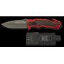 Záchranářský nůž K25 / RUI Red and Black 88mm