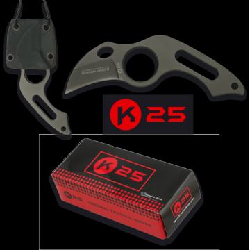 Malý taktický nůž TACTICO K25 / RUI 39mm (k nošení na krku)