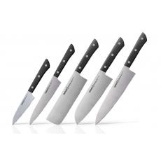 Sada kuchyňských nožů Samura Harakiri 5-v-1 (SHR-0250B)