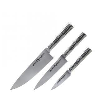 Sada kuchyňských nožů Samura Bamboo (SBA-0220), 88 mm, 150 mm, 200 mm