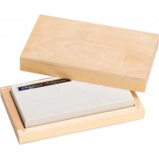 Brusný kámen Arkansas (Haller 50704) v dřevěné krabici