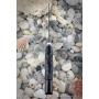 Outdoorový nůž VORSMA Ovád 2 Damašek, kámen, černý hrab, vyřezávaný, 147 mm