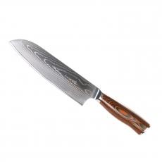 Santoku nůž Seburo SUBAJA Damascus, 190 mm