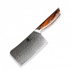 Čínský univerzální nůž Dellinger Rose-Wood Damascus, 165mm