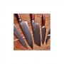 Japonský nůž na maso Gyuto / Chef Kiritsuke Dellinger Rose-Wood Damascus, 215mm