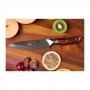 Japonský univerzální nůž Dellinger Rose-Wood Damascus, 130mm