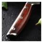 Japonský univerzální nůž SANTOKU / Chef Dellinger Rose-Wood Damascus, 175mm