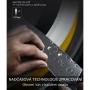 Japonský plátkovací nůž Dellinger Rose-Wood Damascus, 210mm