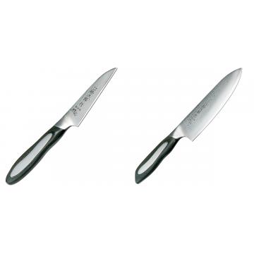 Japonský okrajovací nůž Tojiro Flash 90mm + Japonský šéfkuchařský nůž Tojiro Flash (FF-CH180), 180 mm