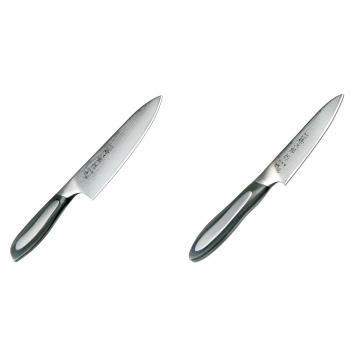 Japonský šéfkuchařský nůž Tojiro Flash 160mm + Japonský okrajovací nůž Tojiro Flash (FF-PA100), 100 mm