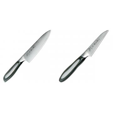 Japonský šéfkuchařský nůž Tojiro Flash 160mm + Japonský okrajovací nůž Tojiro Flash 90mm