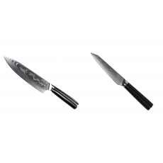 Šéfkuchařský nůž Seburo SARADA II Damascus 190mm + Kuchyňský...