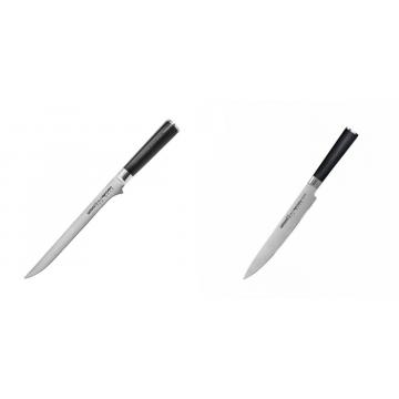 Filetovací nůž Samura Mo-V (SM-0048), 218 mm + Filetovací nůž Samura MO-V (SM-0045), 230mm