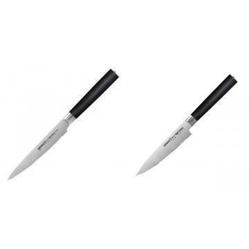 Nůž na rajčata Samura MO-V (SM-0071), 120mm + Univerzální nůž Samura Mo-V (SM-0021), 125mm