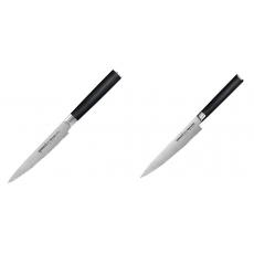 Nůž na rajčata Samura MO-V (SM-0071), 120mm + Univerzální nůž...
