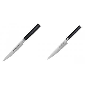 Nůž na rajčata Samura MO-V (SM-0071), 120mm + Univerzální nůž Samura Mo-V (SM-0023), 150 mm