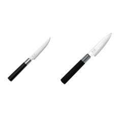 Steakový nůž KAI Wasabi Black, 110mm + Univerzální nůž KAI...