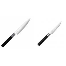Univerzální nůž KAI Wasabi Black (6715U), 150 mm + Steakový nůž...