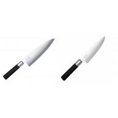 Wasabi Black Deba KAI 210mm + Malý šéfkuchařský nůž KAI Wasabi...