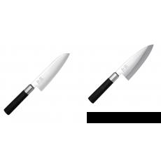 Santoku nůž KAI Wasabi Black (6716S), 165 mm + Vykosťovací nůž...