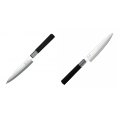 Plátkovací nůž KAI Wasabi Black Yanagiba, 155mm + Univerzální...