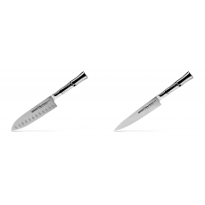 Malý Santoku nůž Samura Bamboo (SBA-0093), 137 mm + Univerzální...