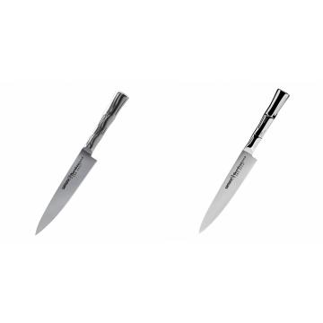 Univerzální nůž Samura Bamboo (SBA-0021), 125 mm + Univerzální nůž Samura Bamboo (SBA-0023), 150 mm