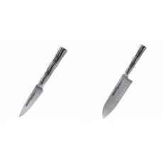 Nůž na ovoce a zeleninu Samura Bamboo (SBA-0010), 80 mm + Malý...