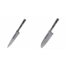 Univerzální nůž Samura Bamboo (SBA-0021), 125 mm + Santoku nůž...