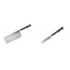Kuchyňský nůž-sekáček Samura Bamboo (SBA-0040), 180 mm + Nůž na...