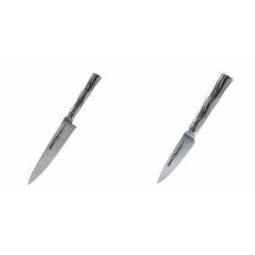 Univerzální nůž Samura Bamboo (SBA-0021), 125 mm + Nůž na ovoce...
