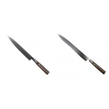 Kuchyňský nůž SEBURO MUTEKI Yanagiba 230mm + Kuchyňský nůž SEBURO MUTEKI Yanagiba 285mm
