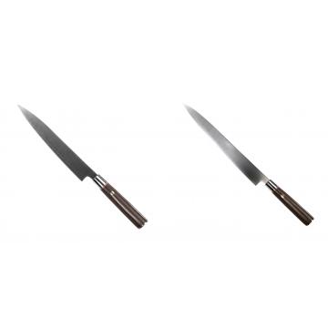 Kuchyňský nůž SEBURO MUTEKI Yanagiba 200mm + Kuchyňský nůž SEBURO MUTEKI Yanagiba 260mm