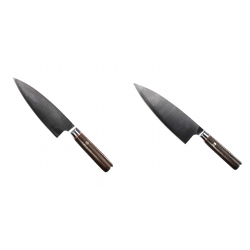 Kuchyňský nůž Seburo MUTEKI Deba 180mm + Kuchyňský nůž Seburo MUTEKI Deba 200mm