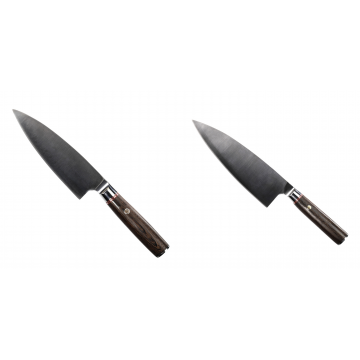 Kuchyňský nůž Seburo MUTEKI Deba 160mm + Kuchyňský nůž Seburo MUTEKI Deba 200mm