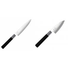 Univerzální nůž KAI Wasabi Black (6715U), 150 mm + Wasabi Black...