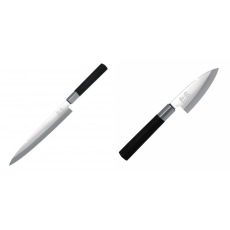 Plátkovací nůž KAI Wasabi Black Yanagiba, 210mm + Wasabi Black...