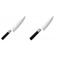 Wasabi Black Nůž šéfkuchaře KAI 200mm + Malý šéfkuchařský nůž...