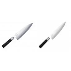 Wasabi Black Deba KAI 210mm + Wasabi Black Nůž šéfkuchaře KAI...